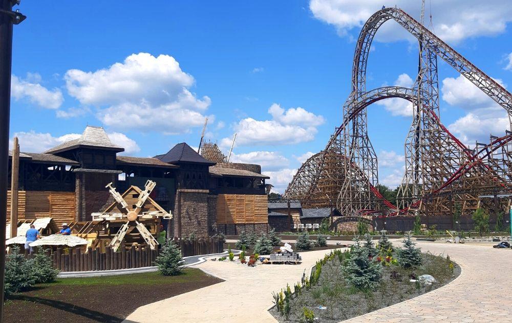 Park rozrywki Energylandia, Zator, drezniany rollercoaster zadra