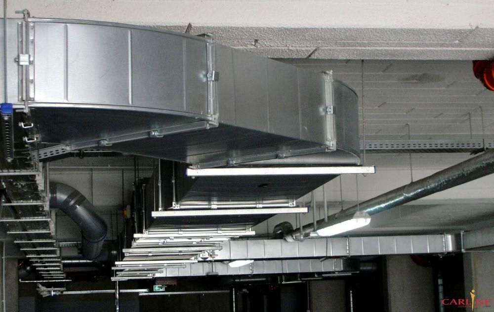 Park Leśny Bronowice, Kraków wentylacja w garażu, system wentylacji w mieszkaniu