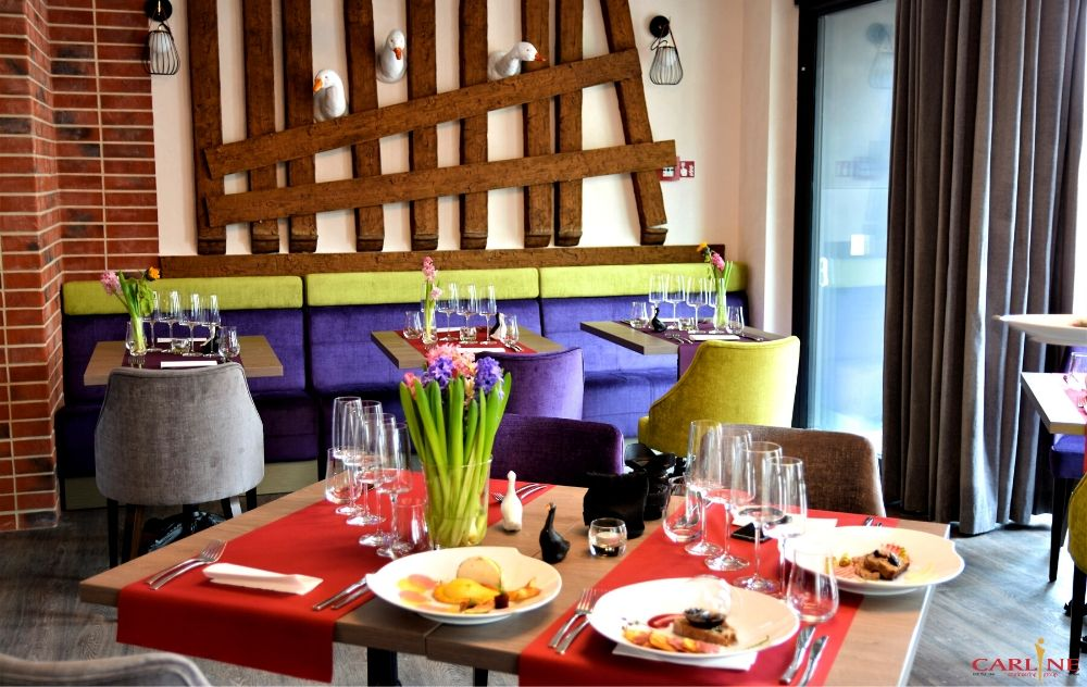 hotel Perfect, restauracja Trzy Gęsi