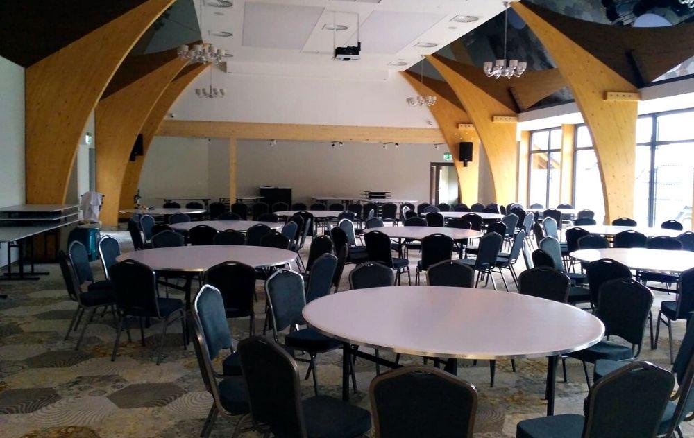 hotel Żywiecki montaz klimatyzacji i wentylacji sala konferencyjna