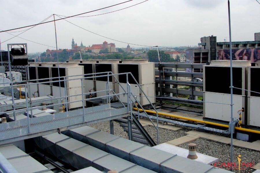 hotel hilton GHP instalacja wentylacji i klimatyzacji