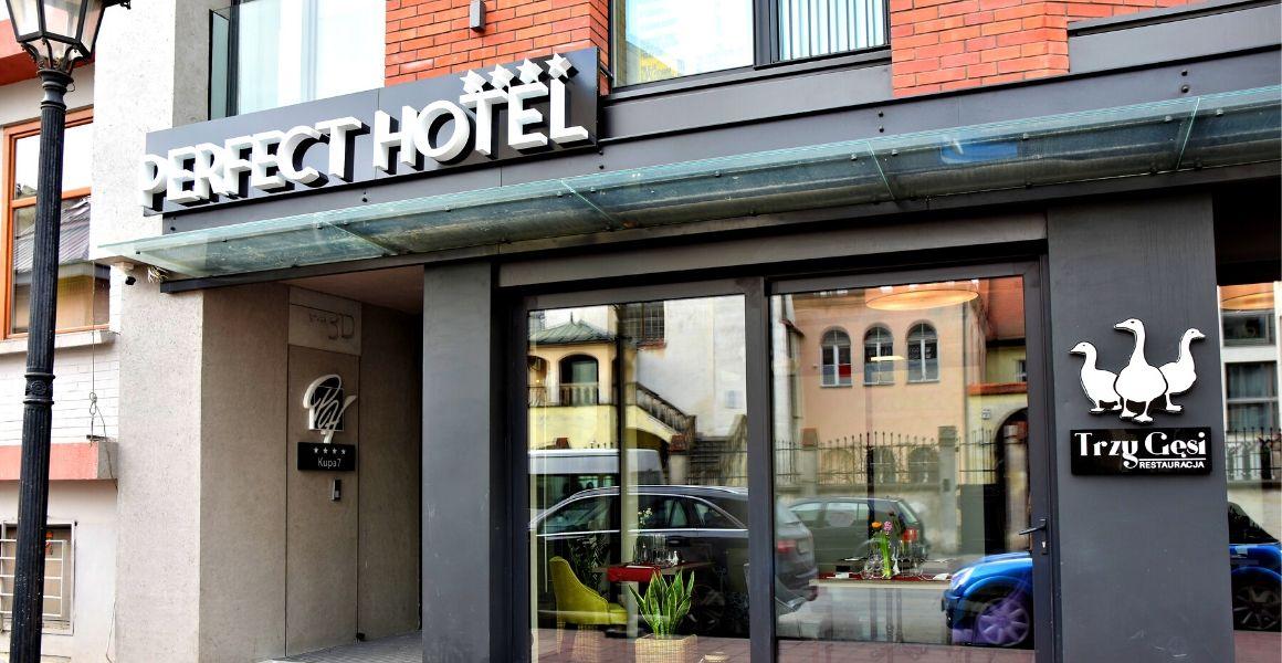 hotel Perfect, Kraków, Kazimierz, realizacja Carline