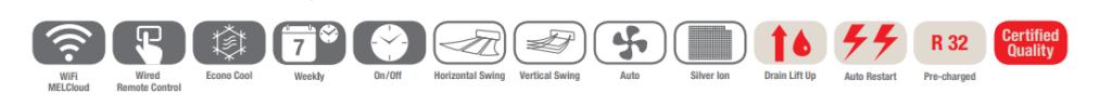 Urządzenie kasetonowe 1-stronne mitsubishi specyfikacja