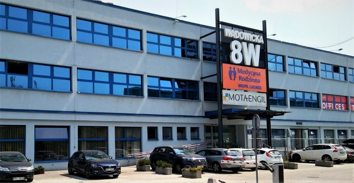 budynki biurowo-usługowe wrocławska 8W Kraków, realizacja Carline